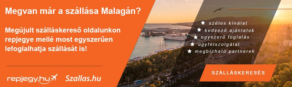 Szállásfoglalás Malaga városába