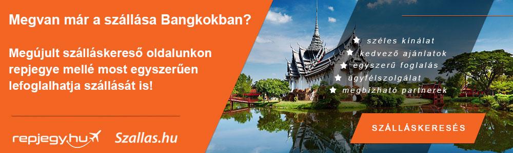 Szállásfoglalás Bangkok városába