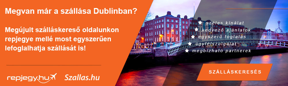 Szállásfoglalás Dublin városába