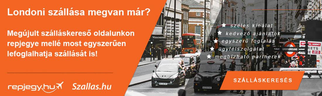Szállásfoglalás London városába