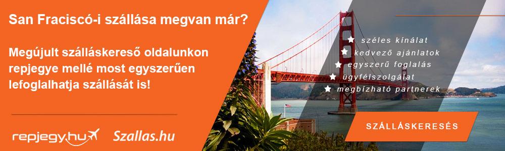 Szállásfoglalás San Francisco városába