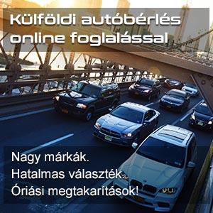 autóbérlés online foglalással