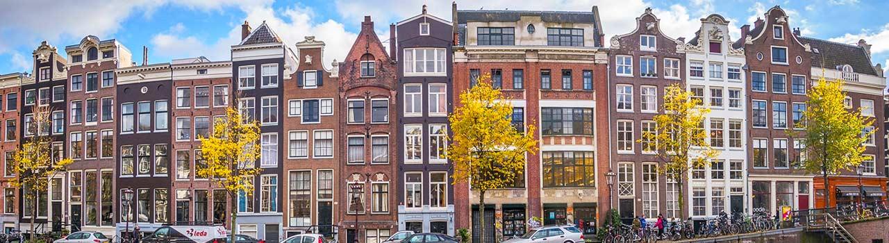 Amszterdamban a művészetek és a tulipánok földje, rengeteg viziúttal, híddal és lakóhajóval. A Rembrandt tér hangulata biztosan magával fogja ragadni a látogatókat, éppúgy mint Damrak sikátorai. Amszterdamban járva nem szabad kihagyni a híres Van Gogh múzeumot, Anna Frank házát és az Hermitage Amsterdamot. Álljunk meg egy kicsit Amszterdam főterén, a Damon és figyeljük az utcai mutatványosok játékát, a forgatagot, és engedjük, hogy átjárjon minket a hely varázsa. Aki felejthetetlen sétára vágyik, az mindenképpen látogasson el Észak-Velencéjének királyi palotáihoz, ahol szinte megelevenedik a 20. század történelem.