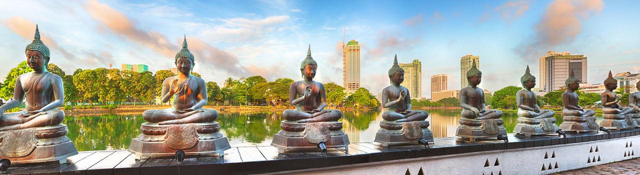 Colombo Sri Lanka legnagyobb városa és központja is egyben. Egy igazi kultúrális olvasztótégely. Pettah kihagyhatatlan, ez a város szíve és ennek megfelelően folyamatosan és intenzíven pulzál. Számos bevásárlóközpont, butik, kávézó vár az idelátogatókra, de ha a kultúra és a passzív pihenés az uticél, akkor kihagyhatatlan a Gangarama buddhista templom. Mindezek mellett rengeteg kiváló kiránduló és piknikező hely közül válogathatunk.