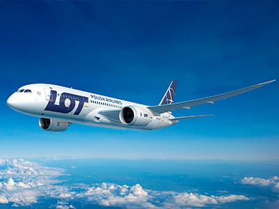 Delhibe indít új járatot a LOT Varsóból