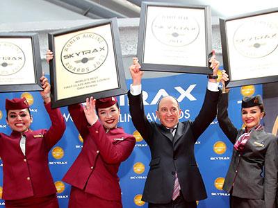 A Qatar Airways lett a legjobb légitársaság a Skytrax éves felmérésén